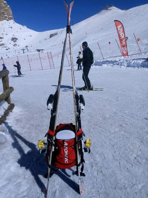 Plecak wielofunkcyjny na narty